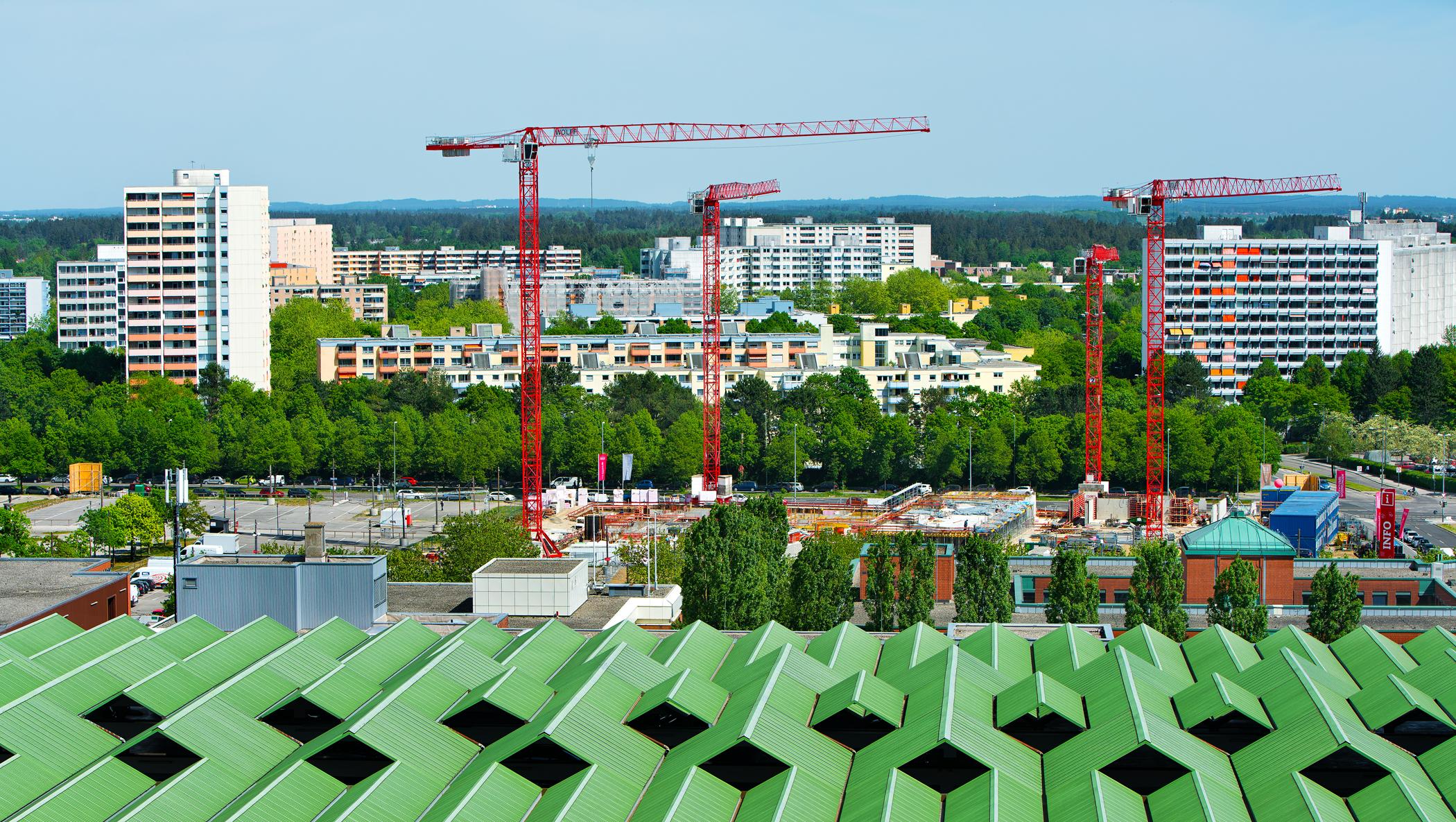 #Neuperlach, #Kieswerk Piederstorfer, #Piederstorfer, #Kieswerk, #Wohnungsbau, #Baustelle, #Karl-Marx-Ring